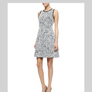 KATE-SPADE NEW YORK Sleeveless Fit-and-Flare Dress